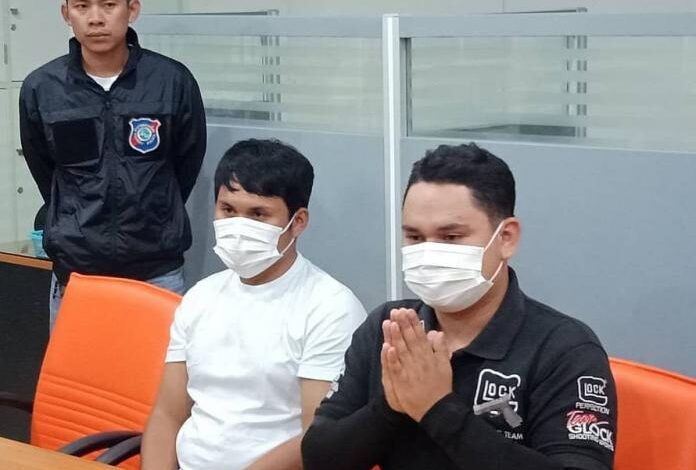 Two temporary Pattaya City Police Employees arrested for