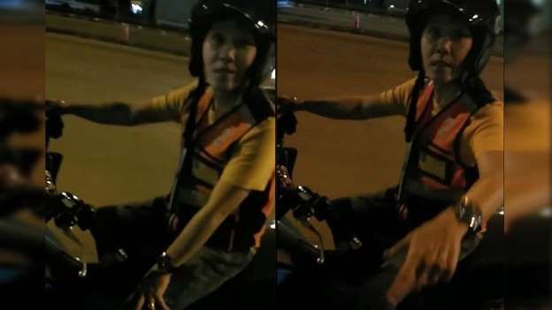 Viral video shows moto-taxi driver demanding THB800 fare for 20-minute ride