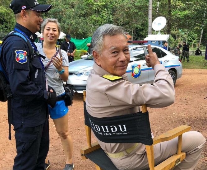 Wild Boars Cave Rescue movie begins filming