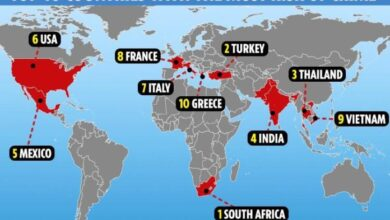 World's Most Dangerous countries for tourists. THE world's most dangerous countries for a holiday have been named – and they