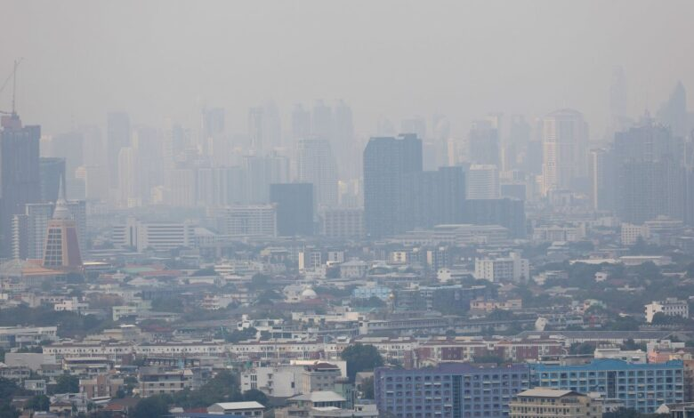 Bangkok gets pollution warning. The PCD on Thursday reported that air quality in at least two areas of the capital has dropped so much that it will