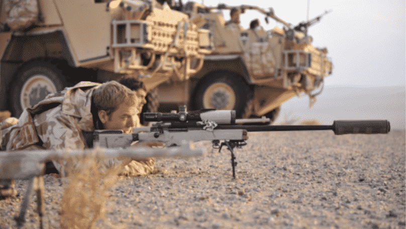British Sniper Once Took Out Six Terrorists With A Single Shot