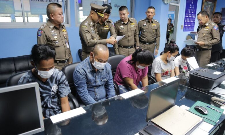 Cambodia pickpockets rounded up in Bangkok. POLICE in Bangkok have arrested six Cambodian pickpockets working working as a team to target foreigners,