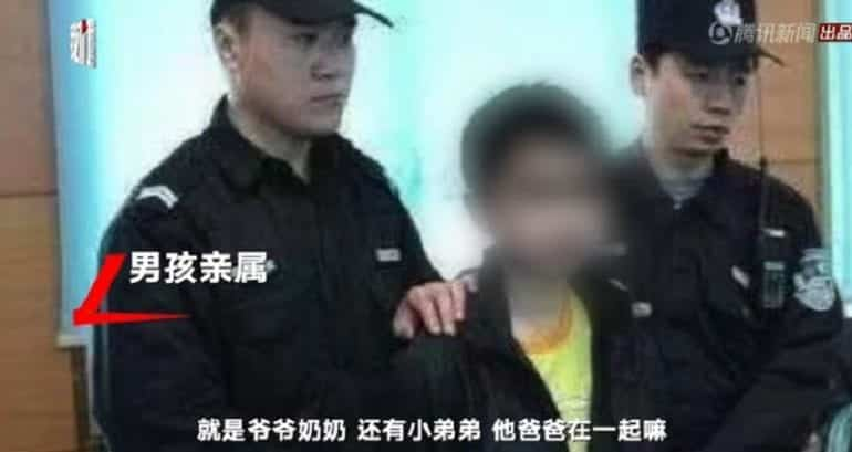 Chinese Boy Stabs 'Strict' Mother to Death, Gets No Jail Time. A 12-year-old boy china who stabbed his own mother to death is now unable