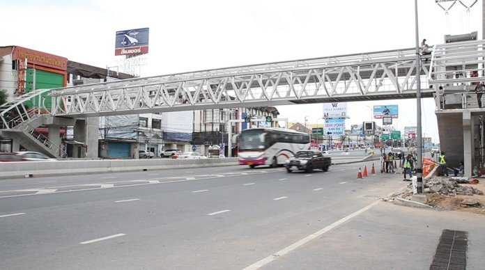 Completion of accessible Sukhumvit overpass set for year-end