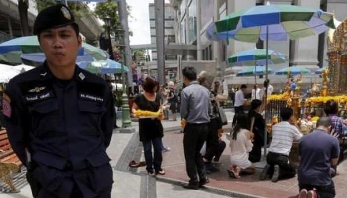 French tourist shot dead in Bangkok by off duty Police Officer