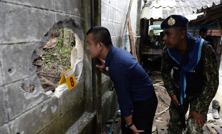 Insurgents suspected in fourth day of south Thailand attacks. Violence presumed to have been carried out by Muslim separatists has hit southern Thailand