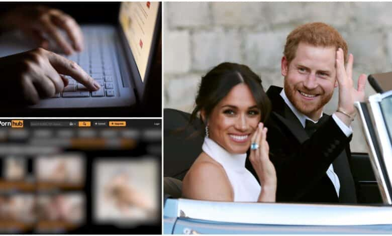 Internet porn use plummeted during Royal wedding, figures reveal. INTERNET pornography use fell ten per cent worldwide during the wedding