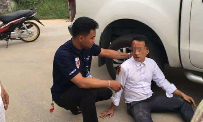 Local Lawyer attacked by two men on motorcycle with a wooden club