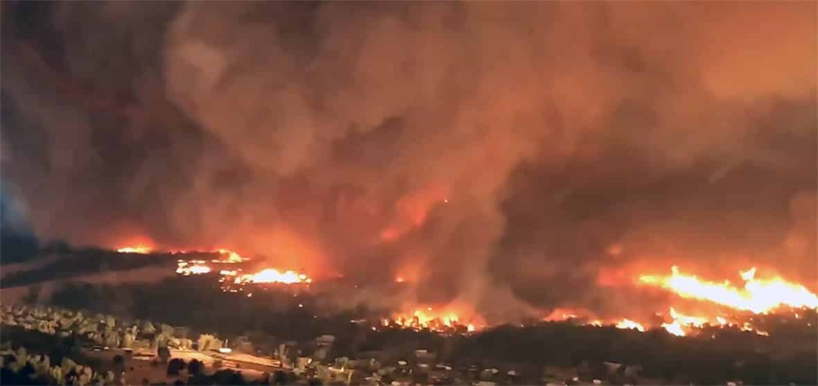 NEW STUDY EXPLAINS CREATION OF DEADLY CALIFORNIA 'FIRENADO' A rare fire tornado that raged during this summer's deadly Carr Fire in