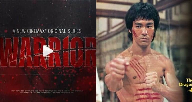 """New T.V. Series 'Warrior' Inspired By Bruce Lee's Writings Looks Extremely Epic. A new Cinemax series called """"Warrior,"""" inspired by the writing of Bruce"""