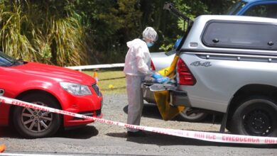 New Zealand police find body they believe is British tourist. New Zealand police said Sunday they found a body they believe to be that of missing