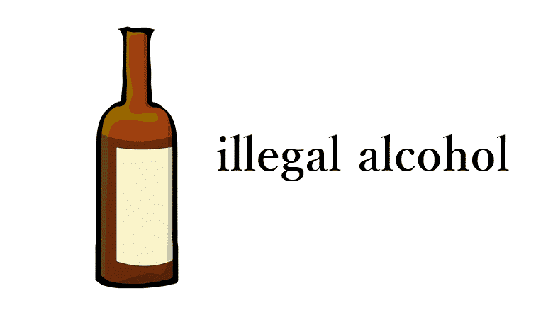 Old women caught by The Excise Department making illegal alcohol. More than 1,000 liters of fake whiskey was seized from a 61-year-old senior on the 26th of