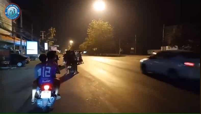 Over 100 road-racing motorcyclists descend on Pattaya roads