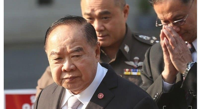 Prawit issues orders in bid for safer holidays