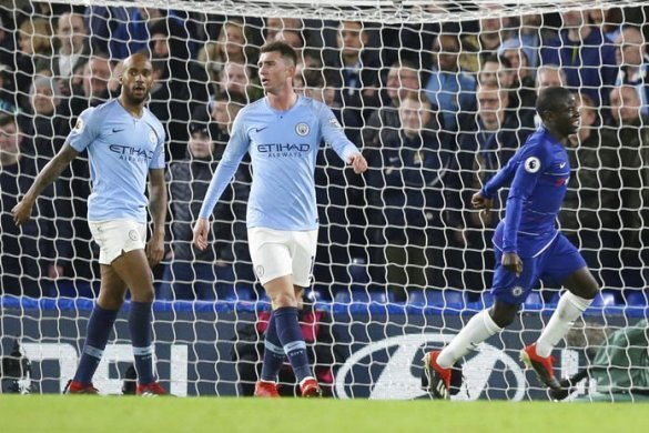 Premier League opens up as Chelsea end City's unbeaten start. For 45 minutes Chelsea were under siege, pinned back in their own half by Manchester