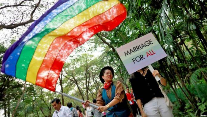 Same-Sex Marriage and adoption of children to same-sex couples legalized in Thailand. If you're at least 20 years old, and one of you has Thai nationality,