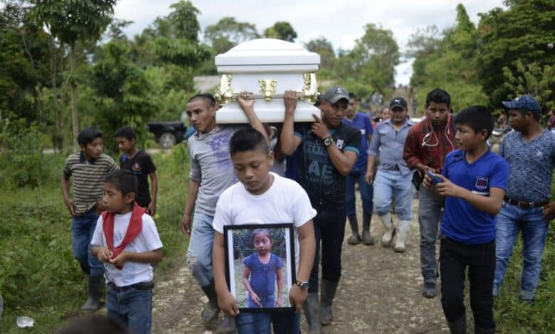 Second Guatemalan migrant child dies in US custody. An eight-year-old migrant from Guatemala died in US government custody on Tuesday, Customs and