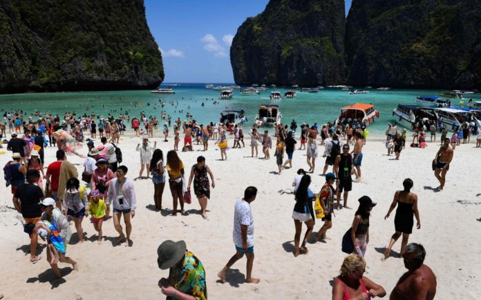 Thailand's Phi Phi islands suffering water crisis