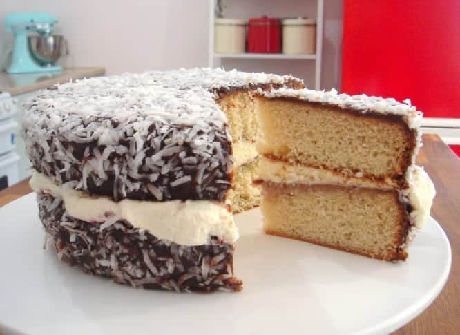 The Origins of the Lamington Cake, Australia's favourite. The Origins of the Lamington Cake, Australia's favourite.A Lamington is a small