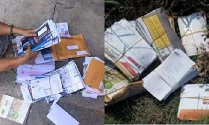 The mail in Thailand and the reason it's not delivered. The mail in Thailand and the reason it's not delivered. A Facebook poster put pictures of what