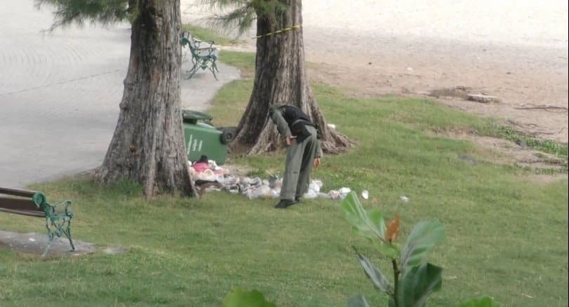 Three bombs found at Samila Beach after blasts damage mermaid statue