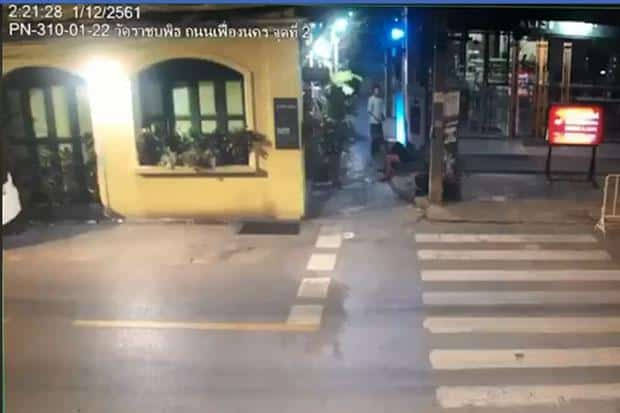 Video: Tourist is lead down alley and raped in Bangkok