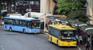 Bus fare hike? What bus fare hike? A Bangkok survey has found that many residents are unaware about the Bt1-Bt2 bus-fare hike coming into