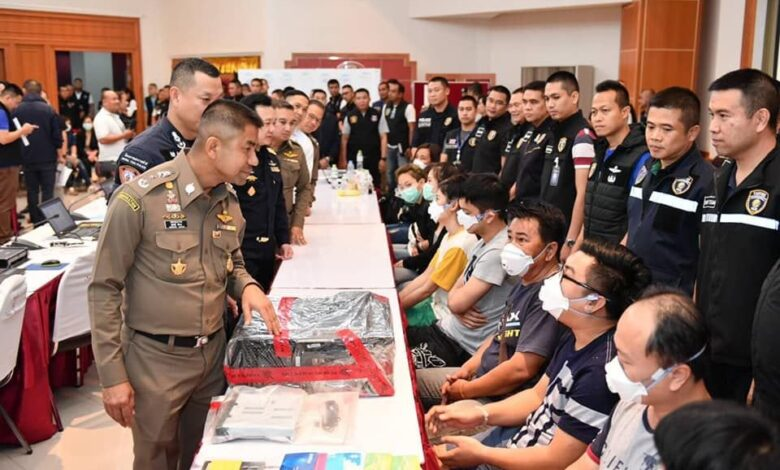 16 nabbed for running online gambling sites. Police on Wednesday launched a coordinated crackdown on online gambling sites across six provinces.