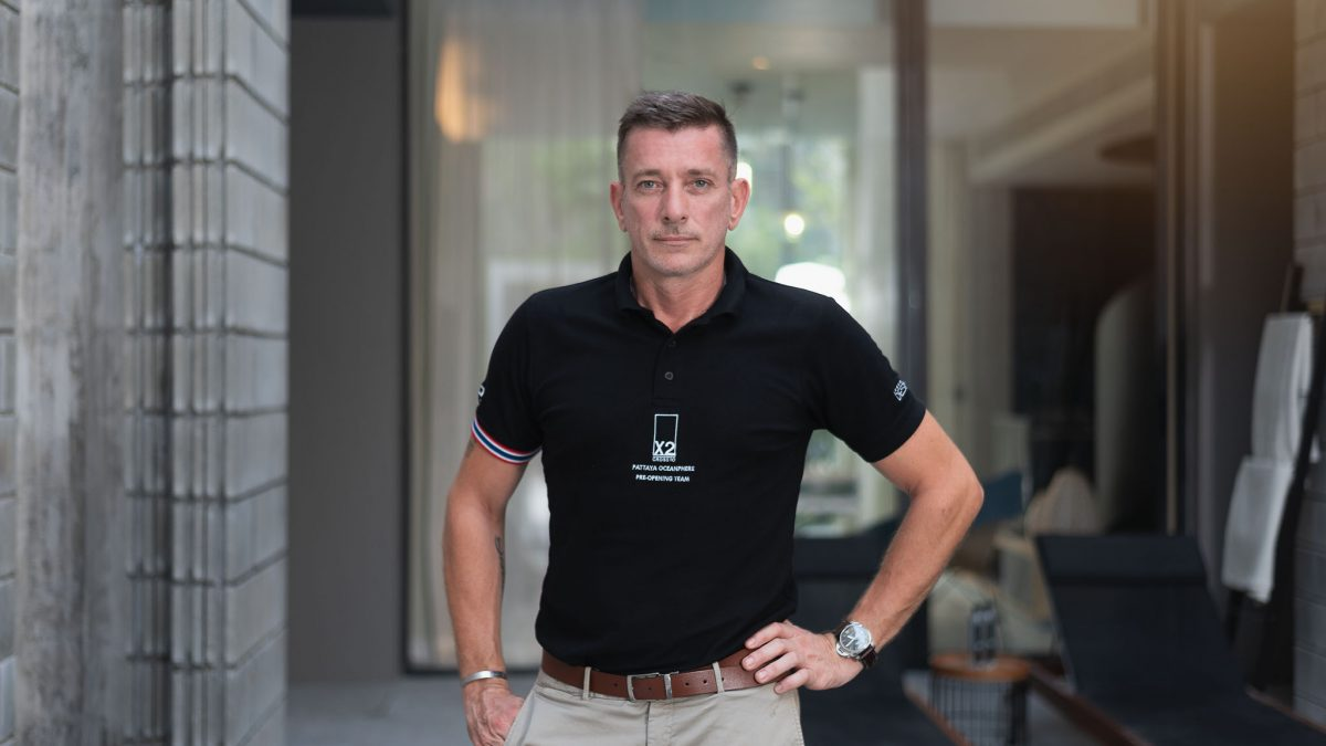 X2 Pattaya Appoints Steve Lockhart As Cluster Manager For 2 Seafront Hotels