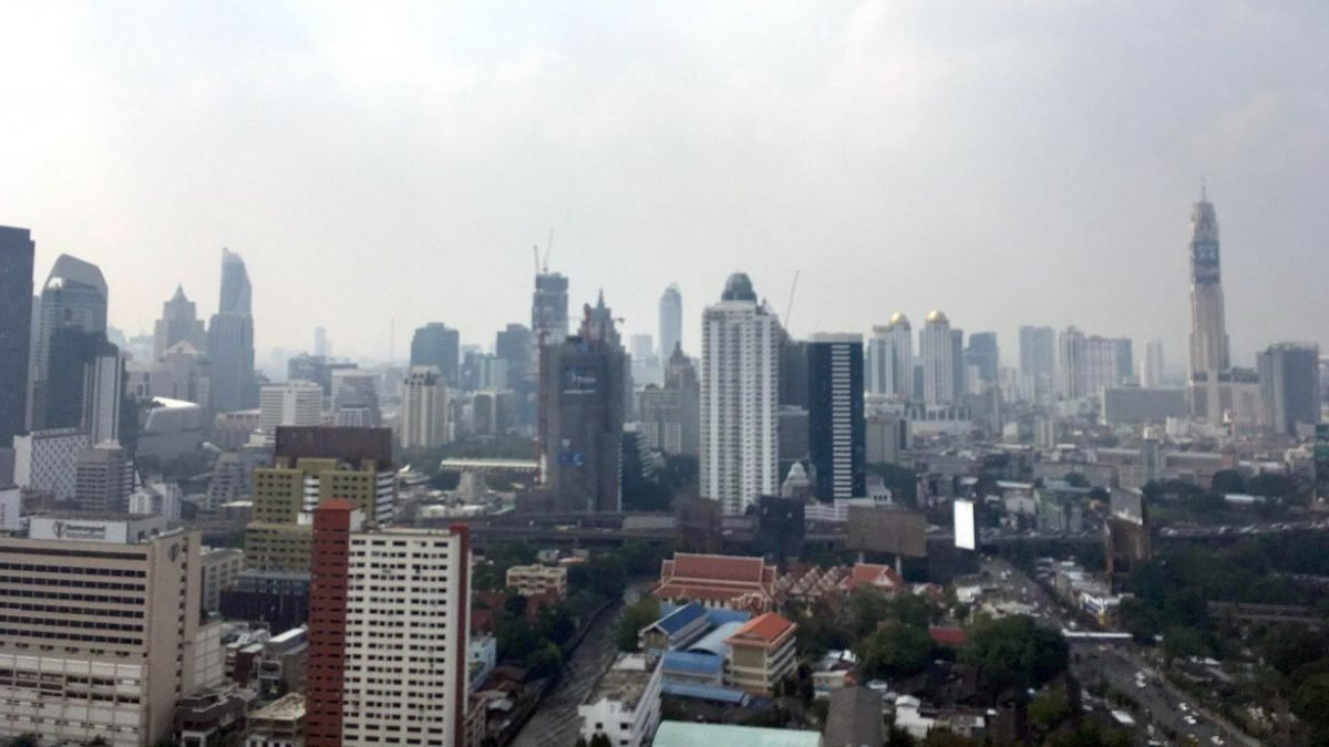 Air pollution back with a vengeance in greater Bangkok