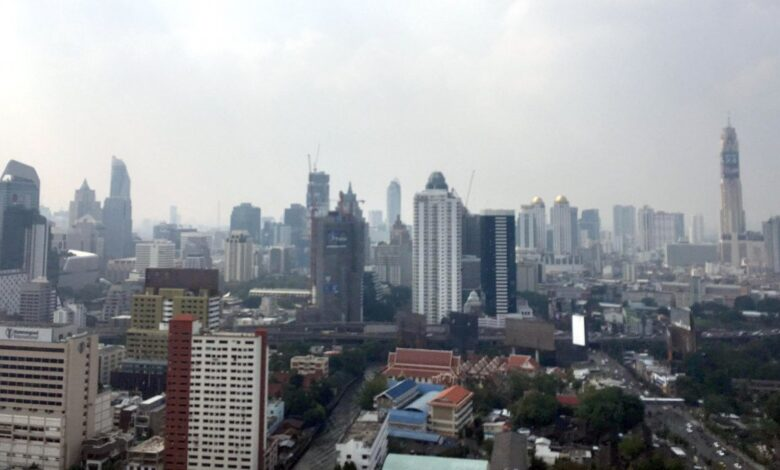 Air pollution back with a vengeance in greater Bangkok. With the joy of the New Year holidays having just passed, the woe of air pollution has again struck