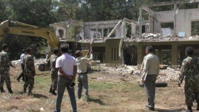 Anantara property demolition begins after court order. Anantara Hotel has started to demolish its property following a Supreme Court ruling this month