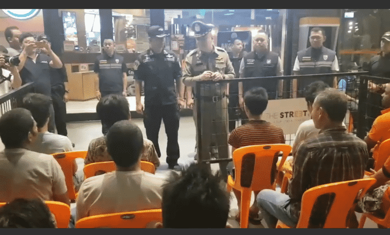 Another 500 foreigners bagged in clampdown. Authorities rounded up 503 foreigners for overstaying their visas, illegally entering Thailand and other