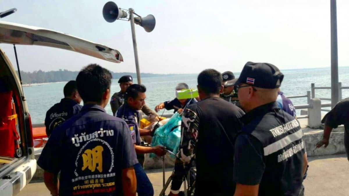 Chinese tourist drowns in Koh Samet