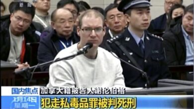 Death penalty for Canadian escalates China-Canada tensions. A Chinese court sentenced a Canadian man to death in a sudden retrial of a drug smuggling