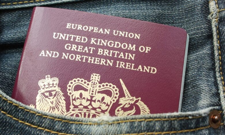 'European Union' removed from new UK passports on 30th March 2019. As the UK prepares to leave the European Union, the British government have been issuing