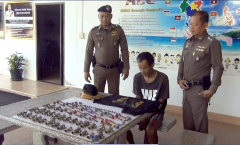 Hardware heist: Trang man charged as water tap bandit. The occupants of 22 houses in Muang Trang woke up Sunday morning to find their water taps missing