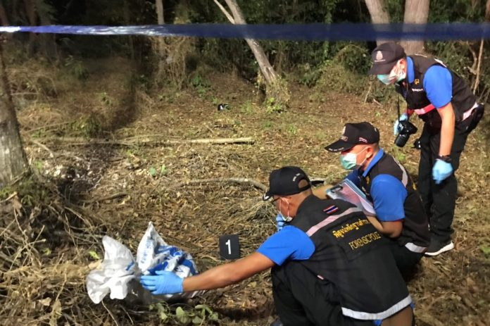 KOREAN ACCUSED OF DISMEMBERING COMPATRIOT IN RAYONG A South Korean man was arrested early Thursday on suspicion of allegedly murdering