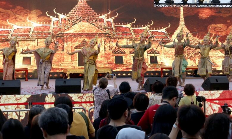 Khon performance takes centre stage at Amazing Thailand Countdown 2019. A Khon performance – in honour of this form of Thai high art being given World