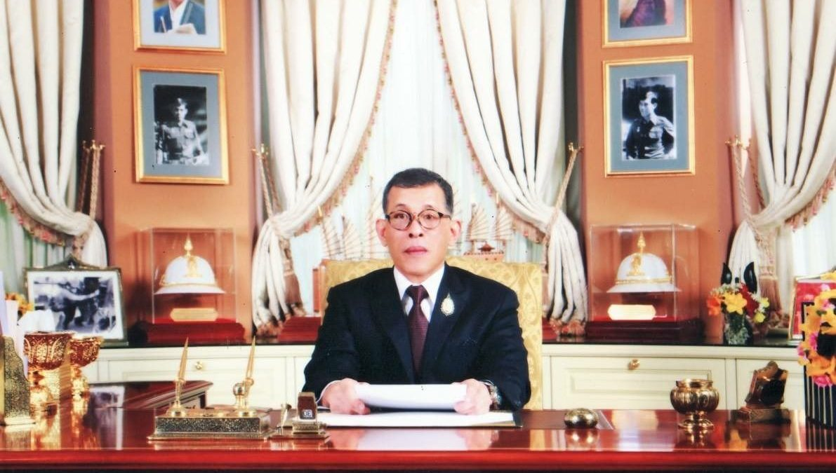 King invokes father's wisdom in New Year blessing