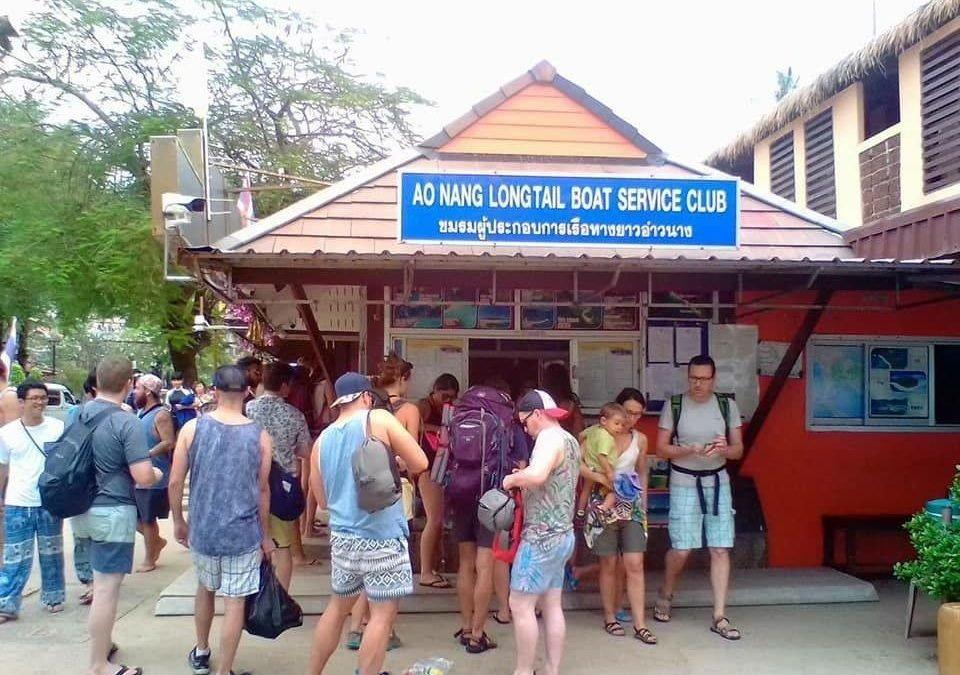 Koh Phi Phi travellers stranded for at least two days