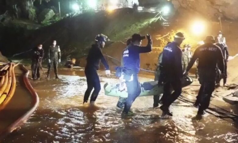 New book reveals soccer team were 'drugged and handcuffed' during their rescue. When the world watched on as rescuers prepared to extract 12 Thai boys