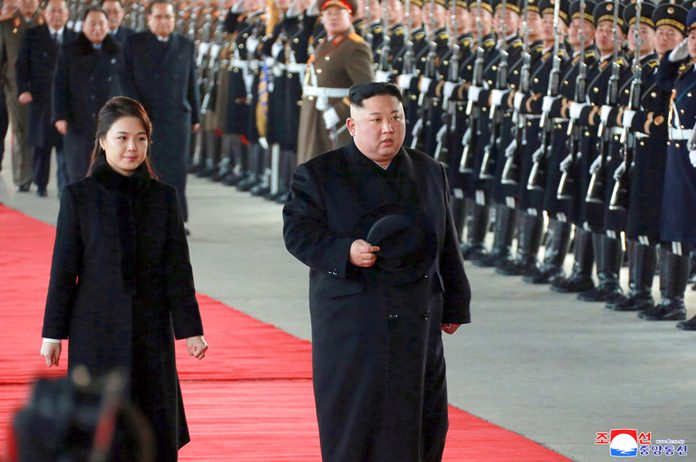 North Korea confirms Kim's departure to China for summit