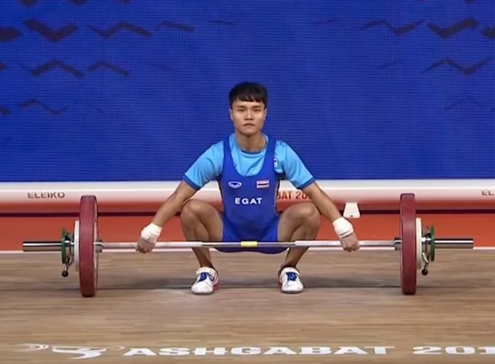 OLYMPIC CHAMP AMONG 4 THAI WEIGHTLIFTERS TO TEST POSITIVE. Two world champion weightlifters and an Olympic gold medalist are among four