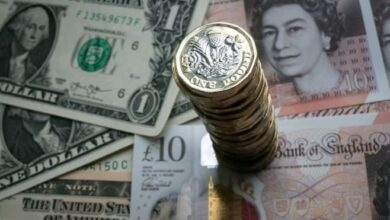 Pound rises after 'meaningful' Brexit vote. The pound has risen after MPs voted to reject Theresa May's Brexit deal by 230 votes.