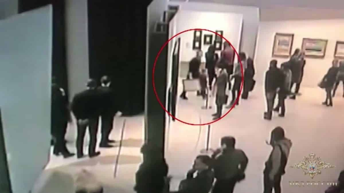 Russia nabs suspect over brazen art theft from Moscow museum