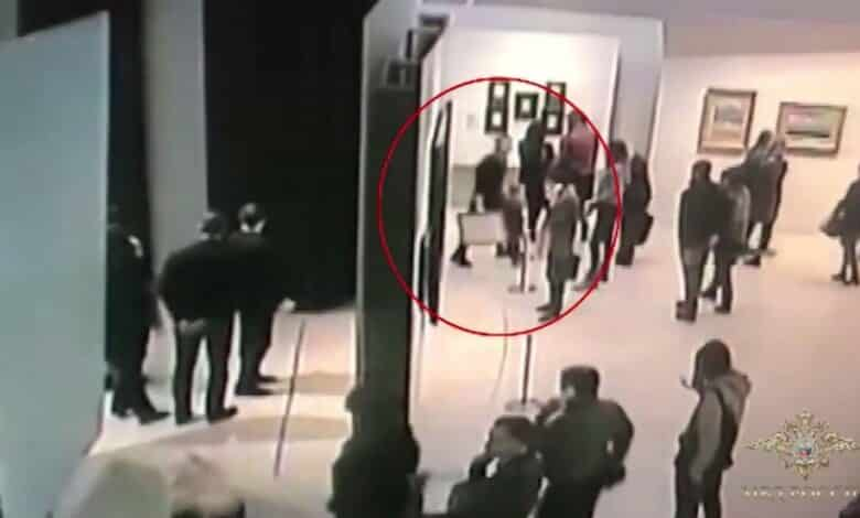 Russia nabs suspect over brazen art theft from Moscow museum. Russian authorities Monday arrested a man they believe stole a painting by a