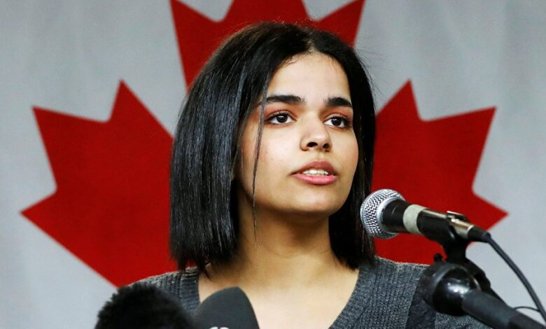 Saudi Teen Who Fled Family to Canada Drinks Wine, Smokes Rolled-Up Cigarette. The girl grabbed the international spotlight earlier this month after fleeing
