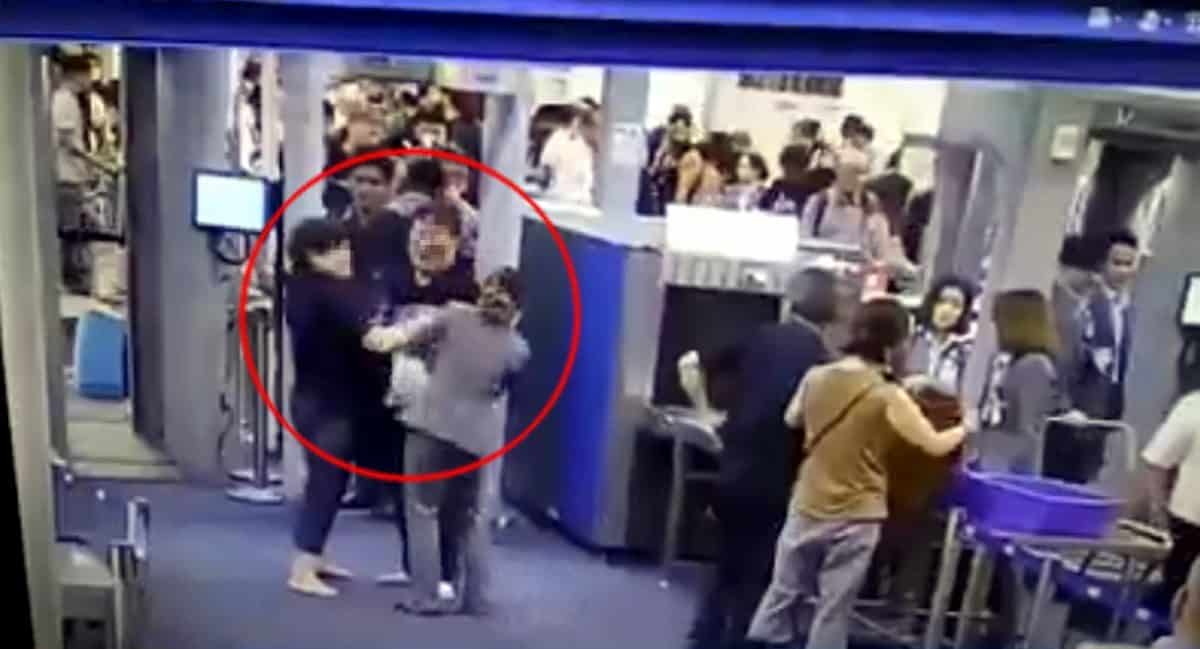 Slapped Suvarnabhumi security worker praised for protecting airport's image by showing restraint